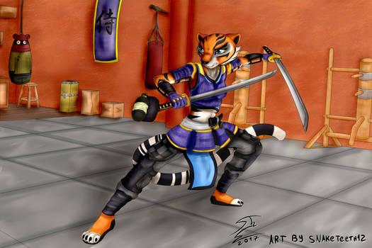 Kiera Nakamura, the Samurai Tigress!