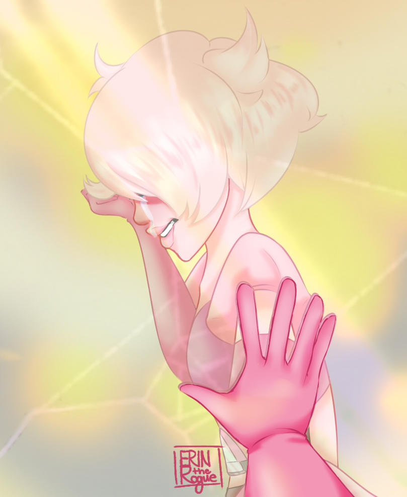 Finally got caught up on Steven Universe and decided to do some Pink Diamond art.