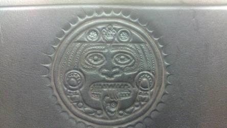 Steampunk Aztec Leather Holster Belt no.1 Hallmark by Arsenal-Best