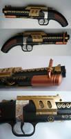 Steampunk no.228 Steam-pistol serial no. 001_01