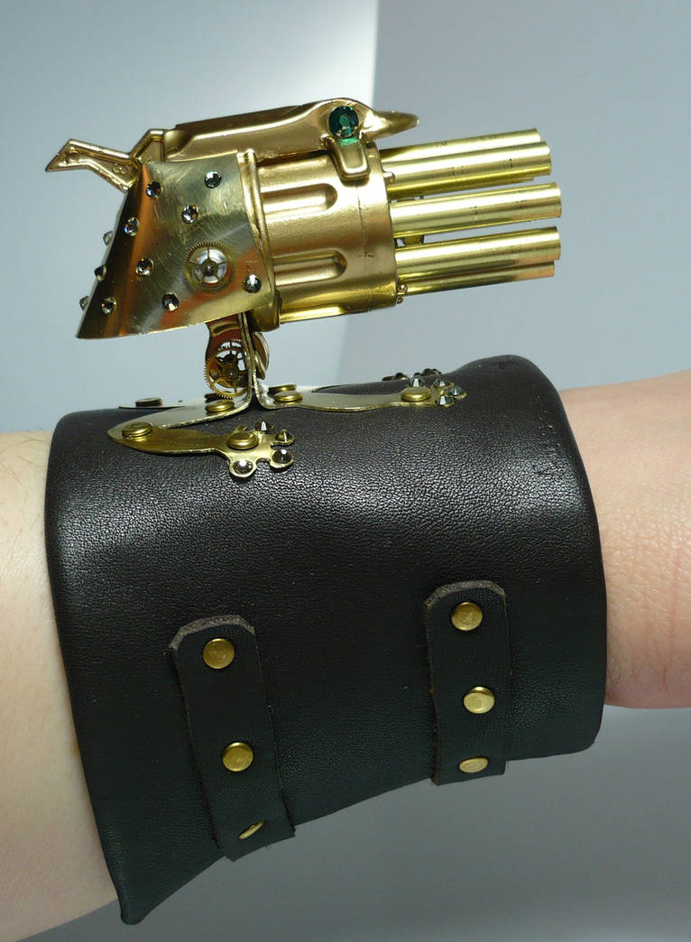 Swarovski Lady Froggy wrist Gatling gun_02 by Arsenal-Best