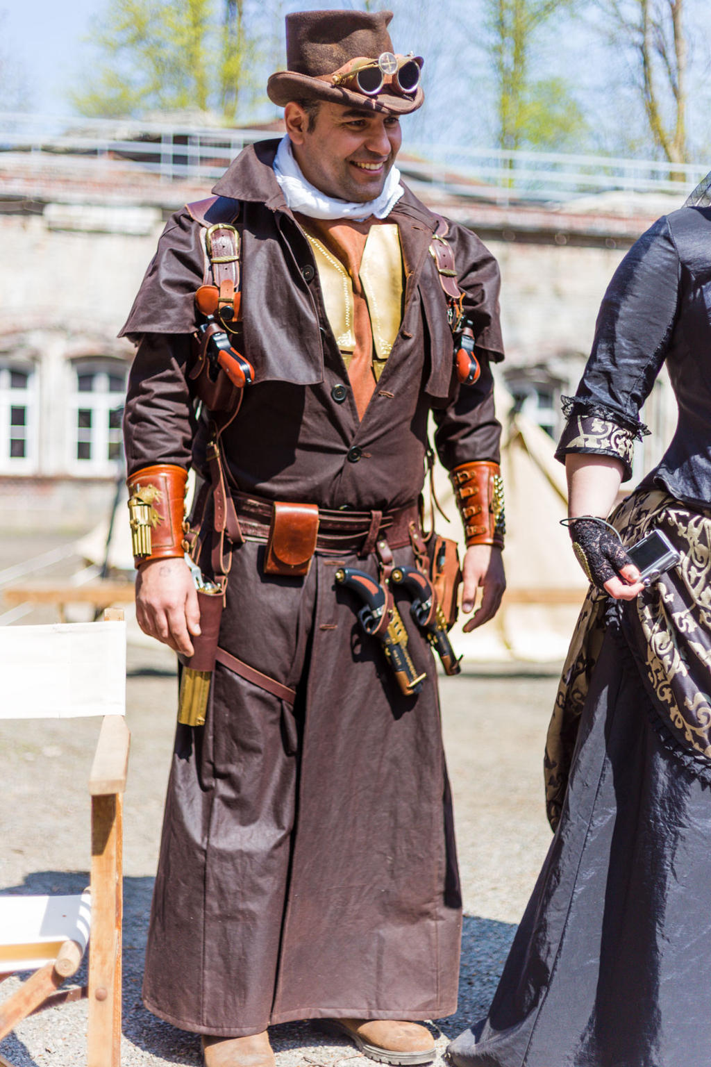 Steampunk Hunter - Arsenal Best in full gear by Arsenal-Best