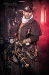 Gatling Gun - Steampunk Hunter
