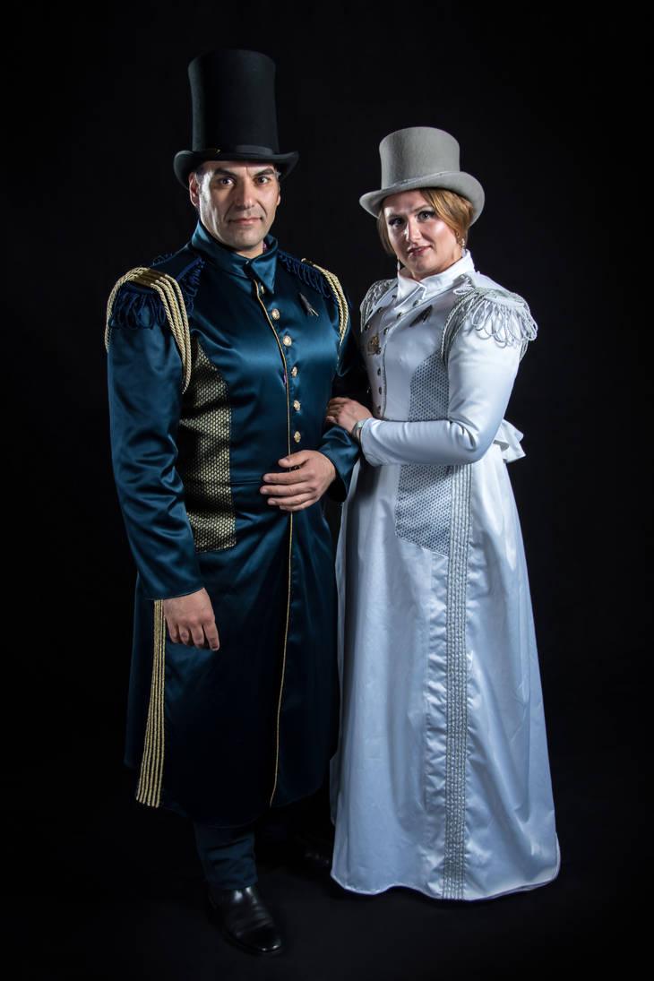 Steam Trek Discovery - Victorian Star Trek by Arsenal-Best