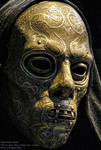 Death Eater mask detail
