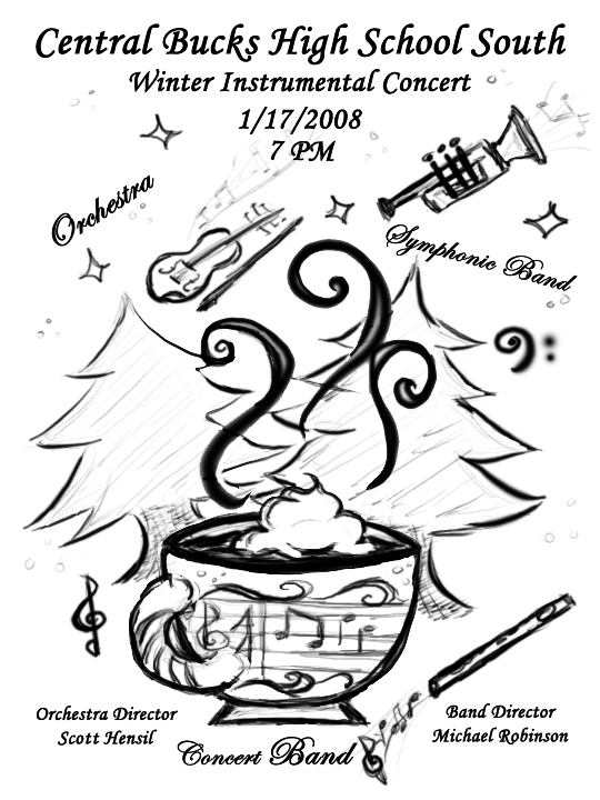 Winter Concert Program Cover By Bezmo On Deviantart