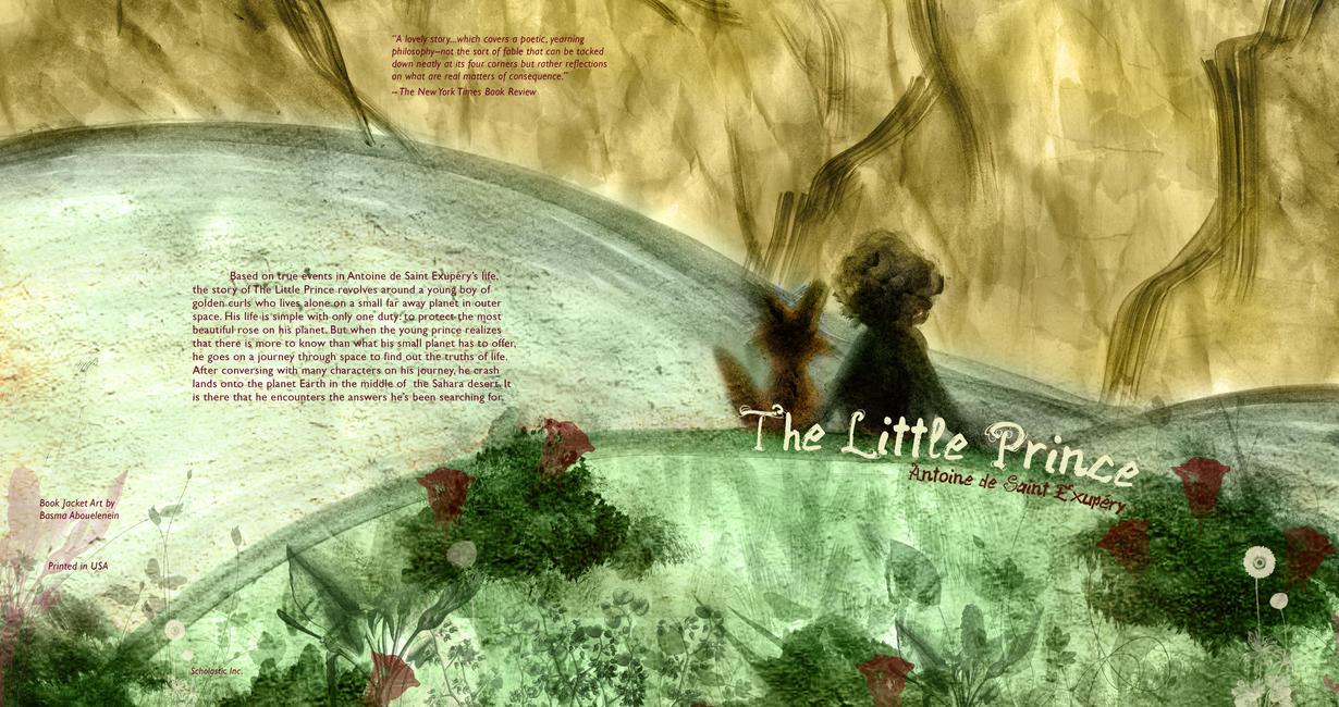The Little Prince Book Cover 2 by Bezmo