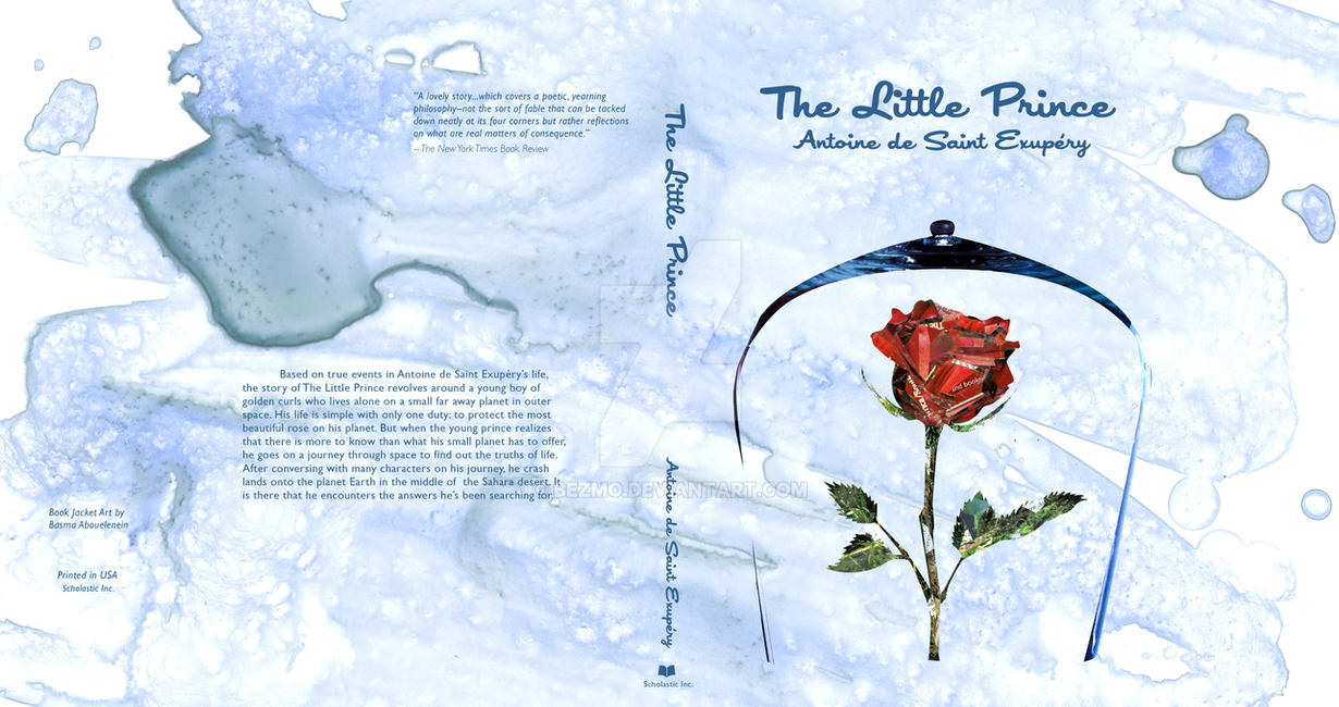 The Little Prince Book Cover 3 by Bezmo