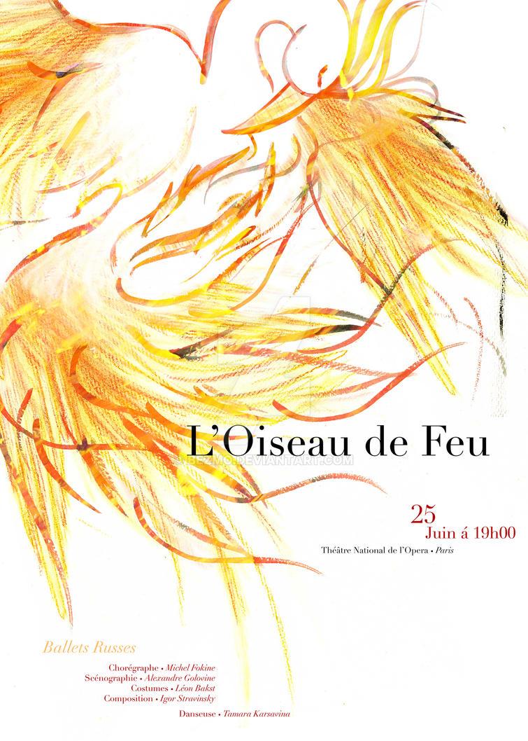 L'Oiseau de Feu Poster by Bezmo