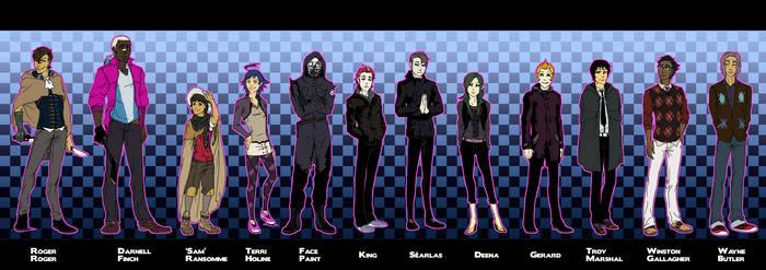 Random characters ho