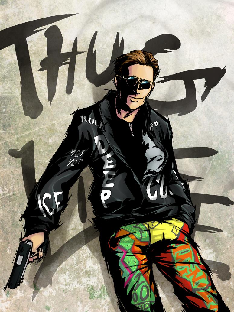 Thug Life Graffiti Thug Life Graffiti Thug Life
