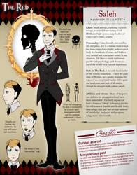 The Red NPC - The Butler by clickmon