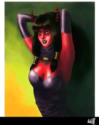Devilgirl by februaryan