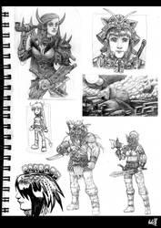 Pencil drawings - 07 by februaryan