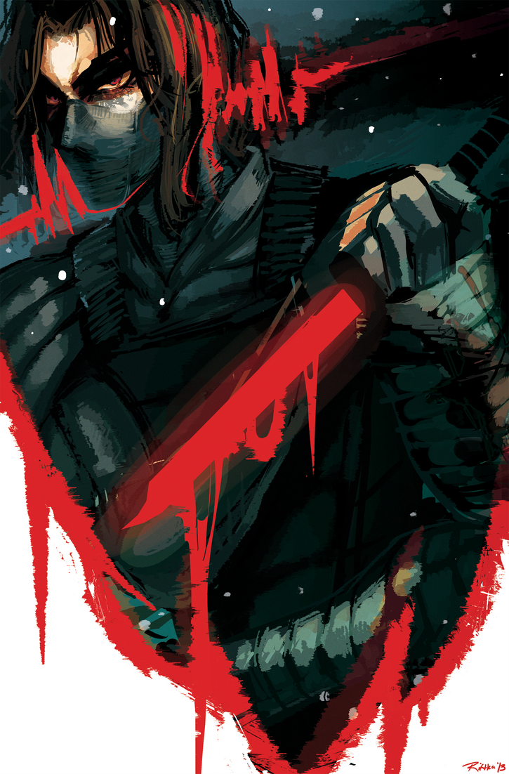 Marvel -The Winter Soldier- by lightning-seal