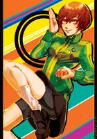 Persona 4 - Chie Satonaka by lightning-seal