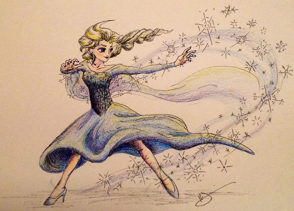 The Cold Never Bothered Me, Anyway by littletzili