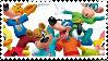 Toontown Online Stamp