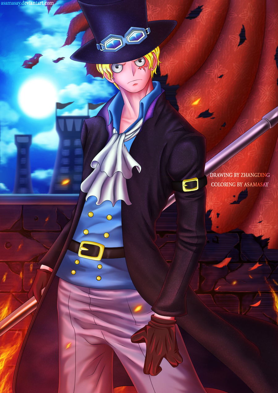 One Piece : Sabo by asamasay on DeviantArt