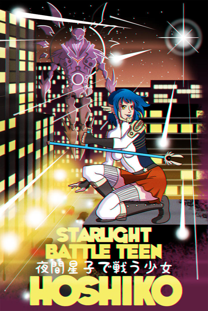 Starlight Battle Teen Hoshiko by joe-wright