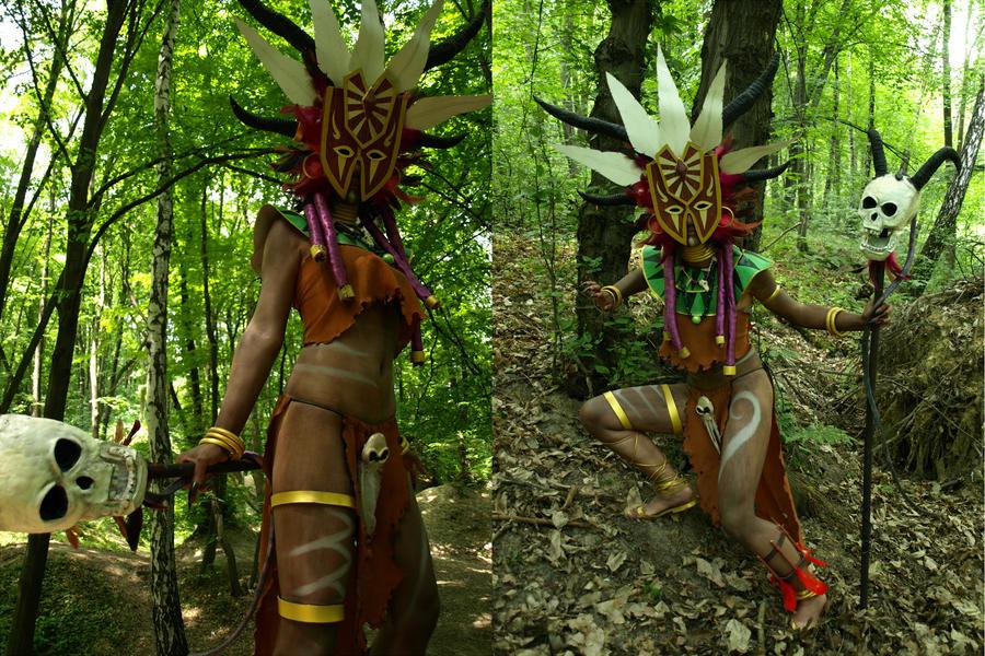 Witchdoctor Diablo III by Kaitishi