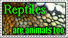 Reptiles Need Love stamp by SizzyBubbles