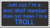 AW does not equal Troll by SizzyBubbles