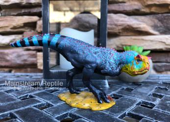 Carnotaurus Model by SizzyBubbles