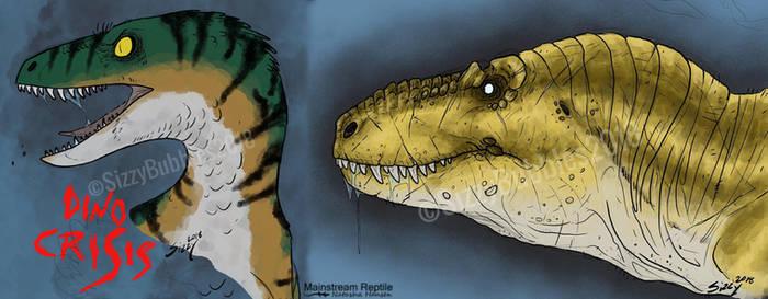 Dino Crisis 2018 doodles