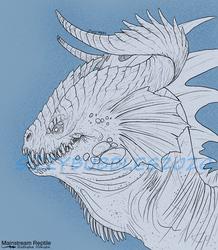Big ol' fuck ugly Dragon head.