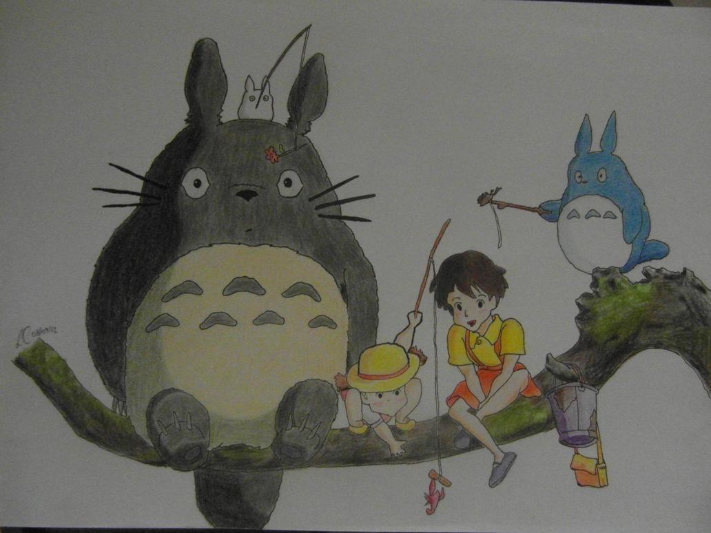My Neighbour Totoro by lorcamart