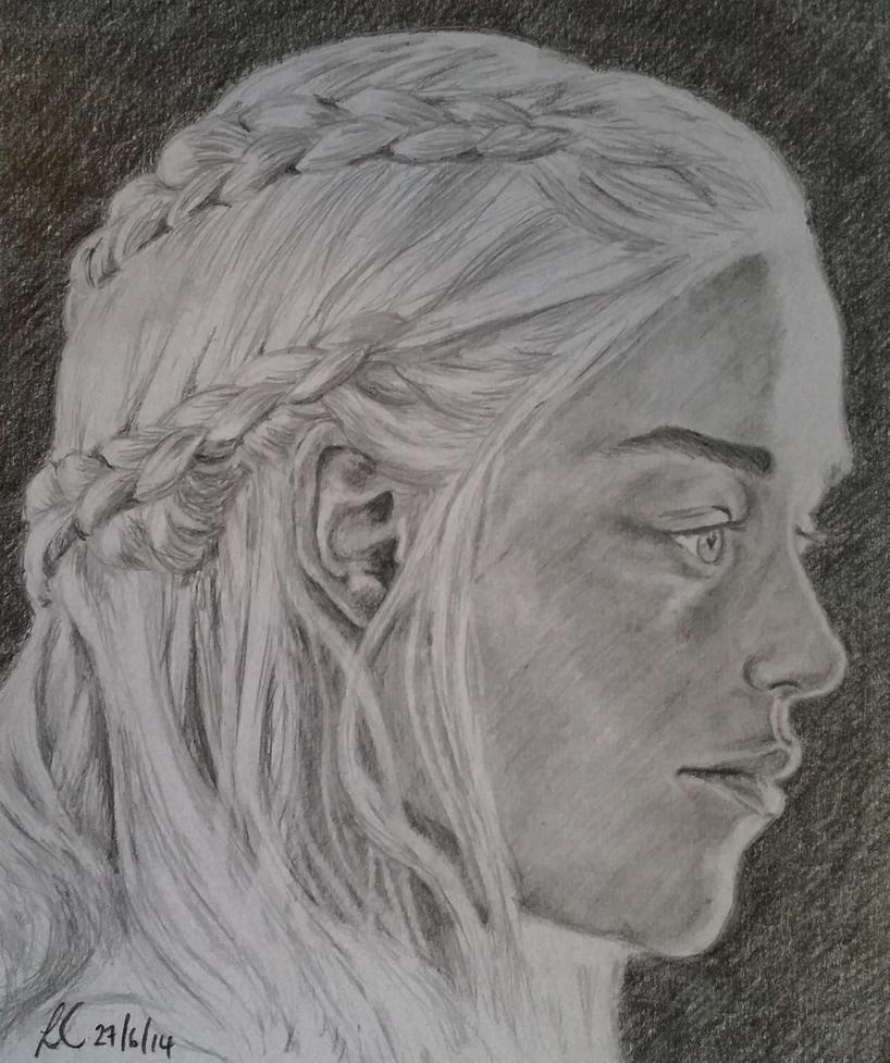 Daenerys Targaryen, Game of Thrones by lorcamart
