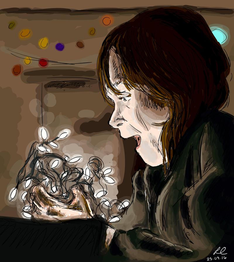 Stranger Things | Joyce Byers by lorcamart