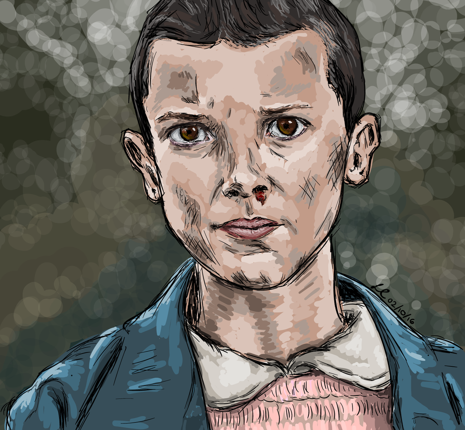 Stranger Things | Eleven by lorcamart