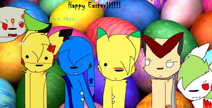 Happy Eas- EEeEE... by Knight-Of-GamKar