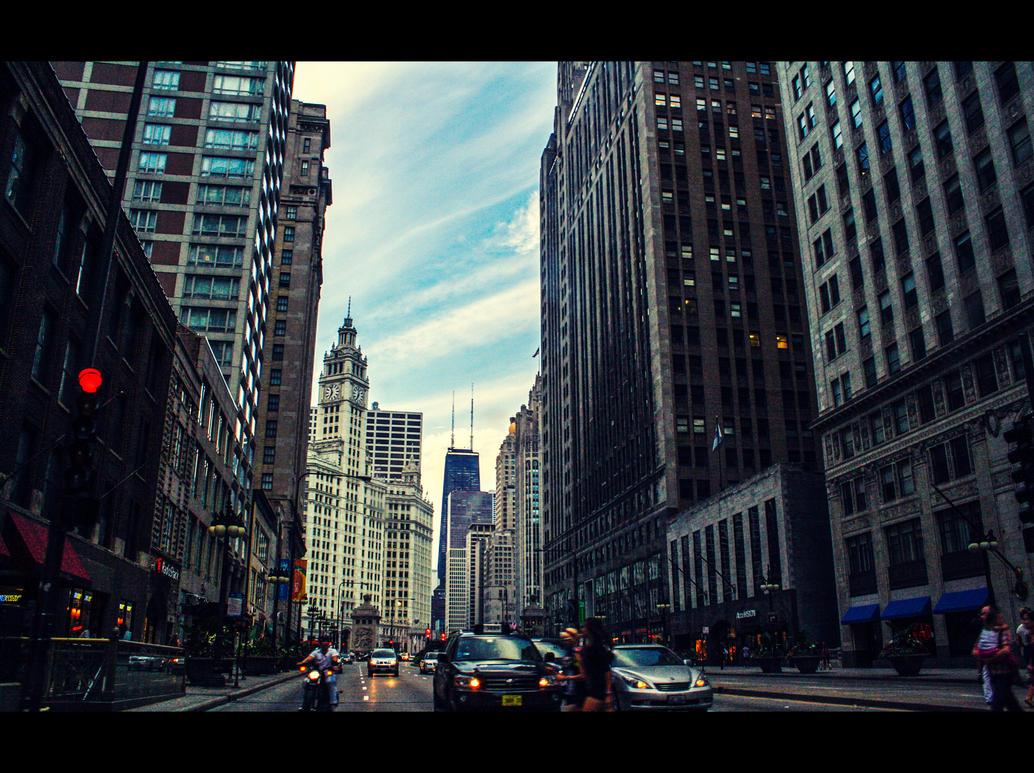 Chicago Downtown by Jenova-89