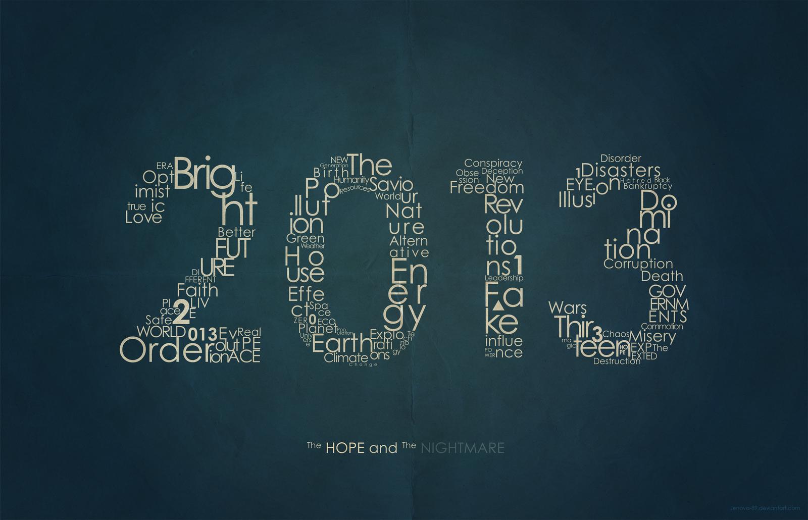 2013: Encoded by Jenova-89