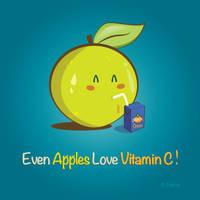 Even Apples ... by Jenova-89