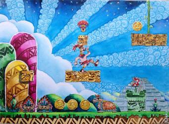 Codex Mario by nenkoart