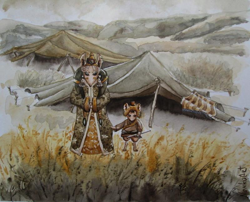 Nomads by nenkoart