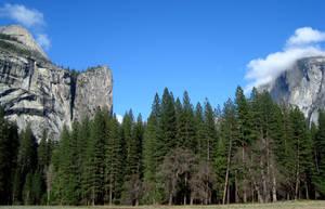 Yosemite Domes by dwarfeater