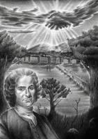 Jean-Jacques Rousseau by dwarfeater