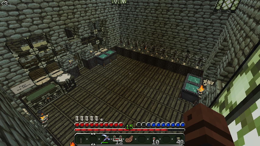 Minecraft Mansion 16 of 33 - Inside: Brewing Room by