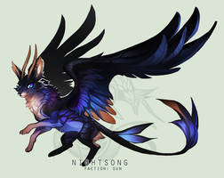 [AUCTION] Dragonkit - Nightsong [CLOSED] by mirrorly