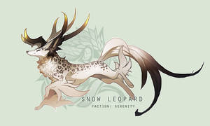 { ADVENT DAY 23 } Snow Leopard - Auction (OVER) by mirrorly