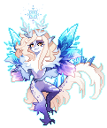 [Pixels] Frost Witch by sordid-dessert