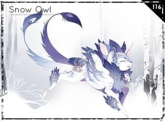 [Verdeer] Winter Advent: Snow Owl