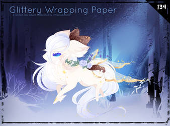 [Verdeer] Winter Advent: Glittery Wrapping Paper