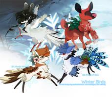 [Verdeer] Day 10: Winter Birds [FREE RAFFLES]