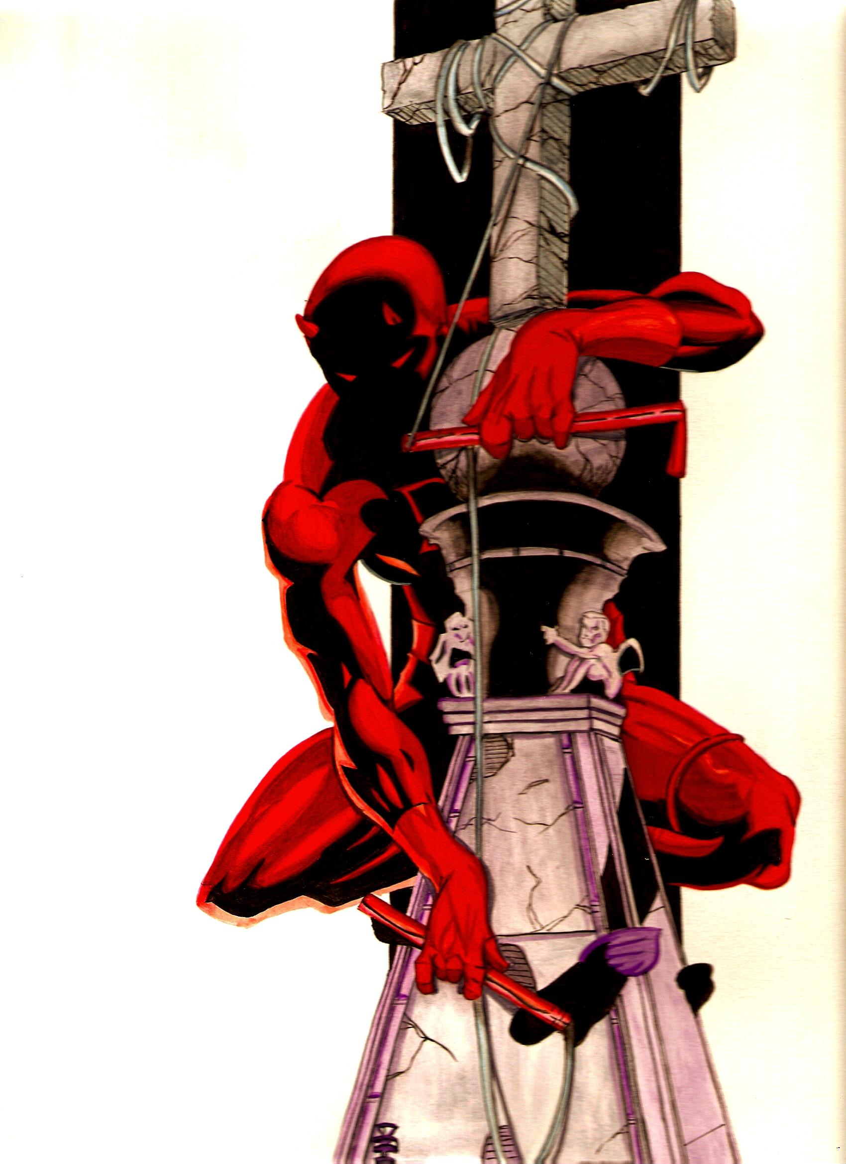 Fan Art Daredevil Cross By Deadman36 On Deviantart